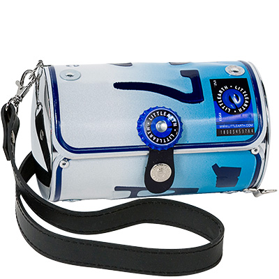 Connecticut license plate purse
