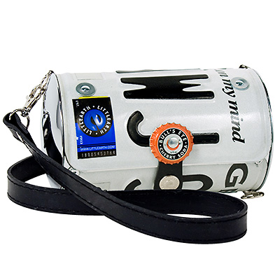 Georgia license plate purse