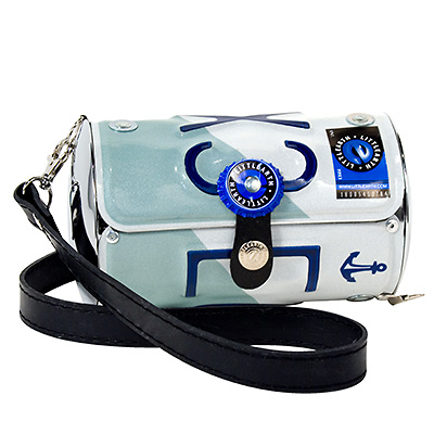 Rhode Island license plate purse
